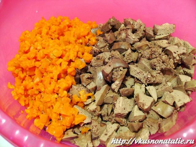 ингредиенты для салата с маринованным луком