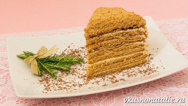 """торт """"Медовик"""" пошаговый рецепт"""