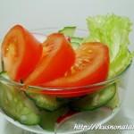 Салат из редиски и огурцов – весенняя радуга вкуса