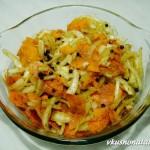 Морковь по-корейски с луком – рецепт очень вкусного салата!