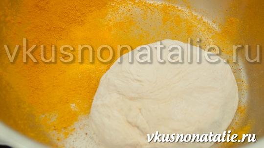 хлеб с сыром в мультиварке