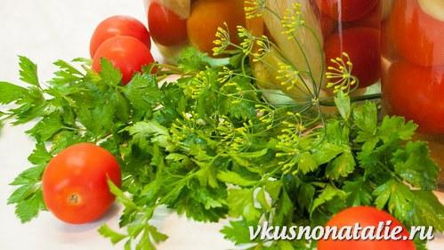 моченые маринованные помидоры