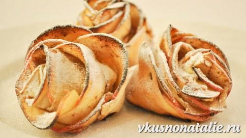яблочные розы рецепт