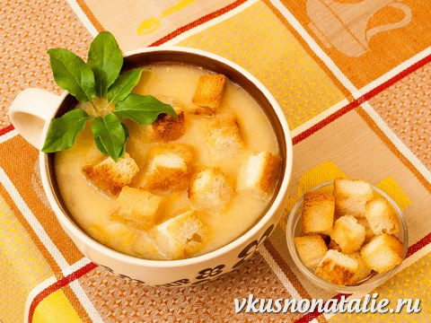 Гороховый суп постный