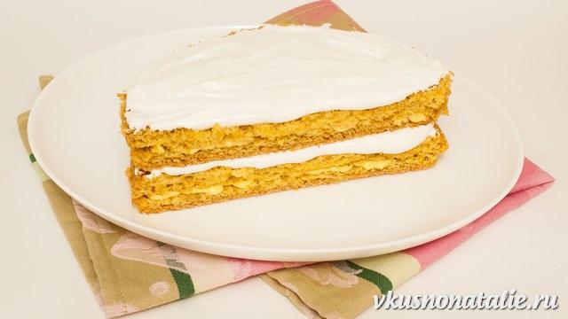простой рецепт бисквита в виде торта