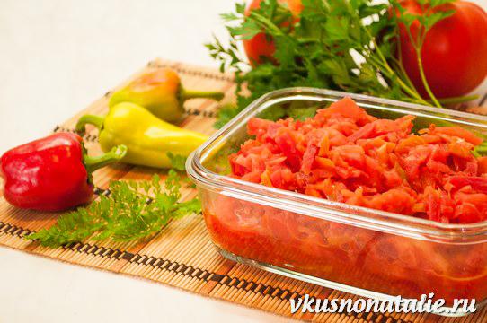 рагу из овощей с картофелем и свеклой