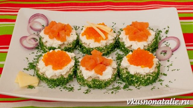 рецепты красивых и вкусных бутербродов с семгой и икрой