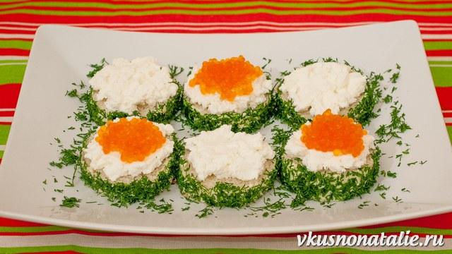рецепты красивых и вкусных бутербродов с икрой