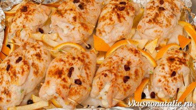 рулеты из курицы рецепты в духовке