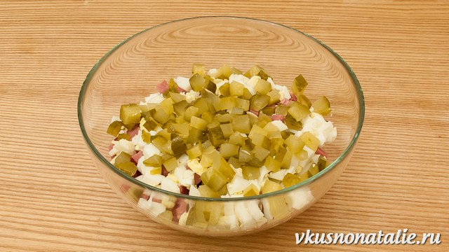 Оливье рецепт классический