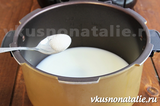 Каша пшённая с тыквой на молоке рецепт