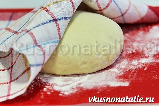 быстрое дрожжевое тесто для пирожков