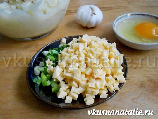 сиченики с сыром и беконом