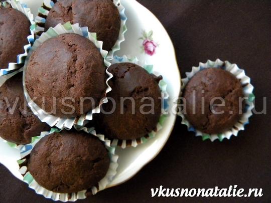 Шоколадные маффины (рецепт с фото)