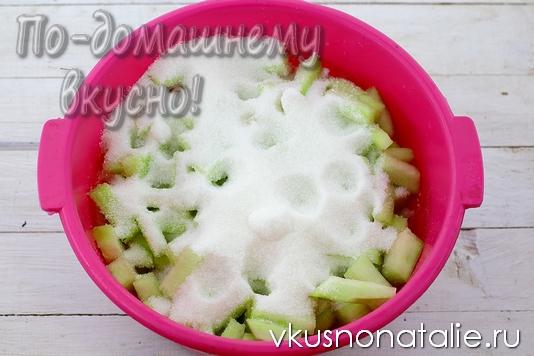 цукаты из арбузных корок рецепт