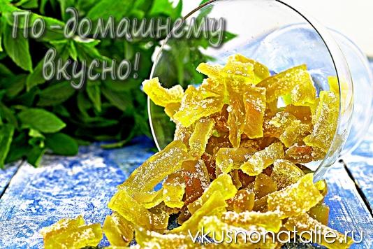 цукты из арбузных корок рецепт