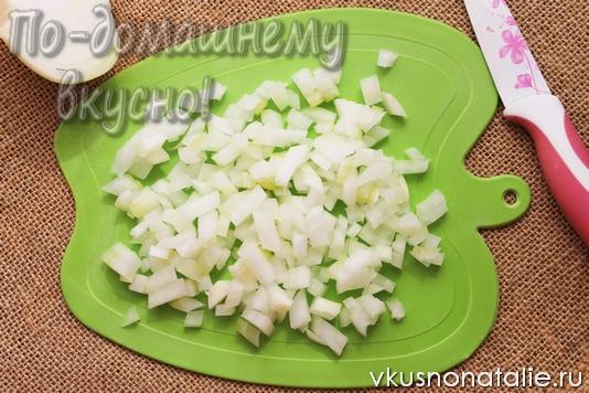 картофельное пюре с жареным луком