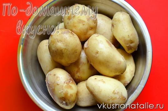 Картофель в белке рецепт