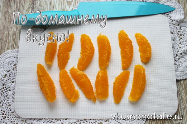 рецепт маринованных апельсинов