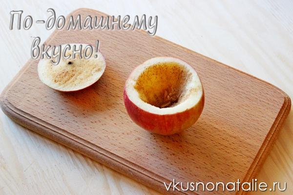 запеченные в духовке яблоки с корицей рецепт