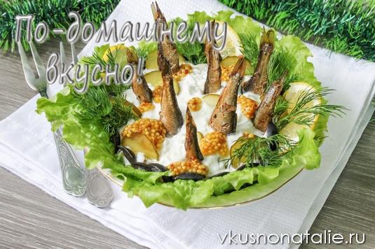 рыбки в пруду рецепт