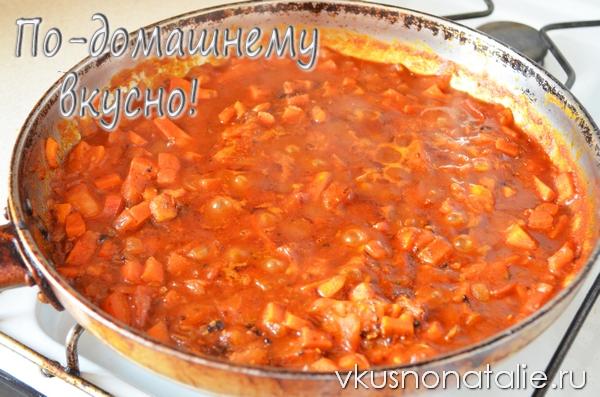 рецепт супа гуляша с фасолью