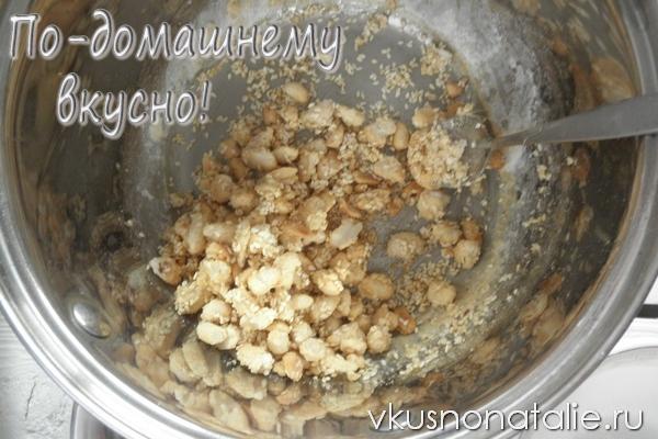 грильяж с арахисом рецепт