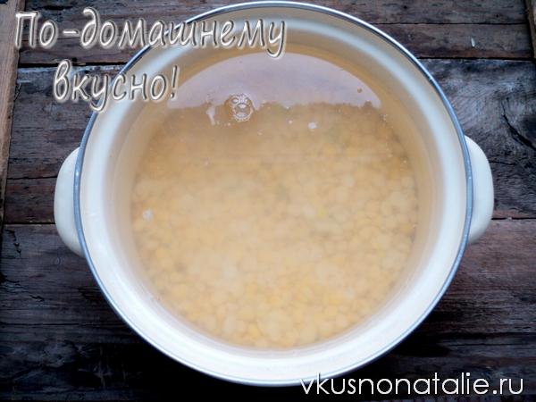 рецепт горохового супа