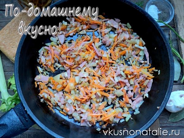 гороховый суп с грудинкой рецепт