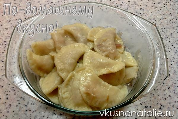 вареники с квашеной капустой рецепт с фото