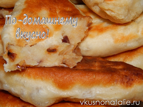 пирожки с картофелем