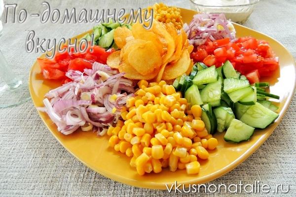 салат козленок рецепт