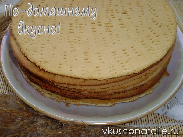 торт рыжик медовый рецепт с фото