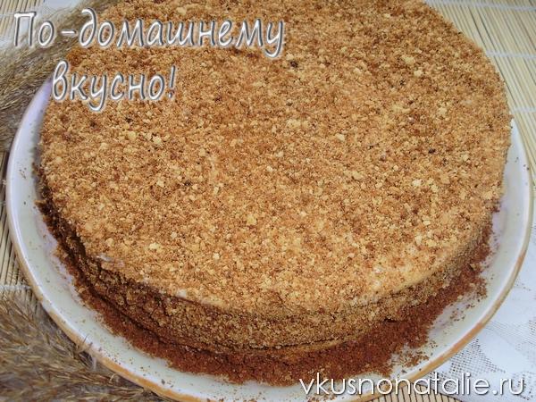 медовый торт рыжик рецепт