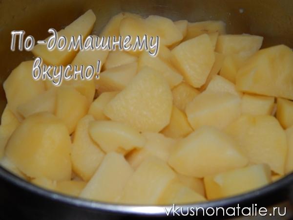 жареные пирожки с картошкой пошаговый рецепт