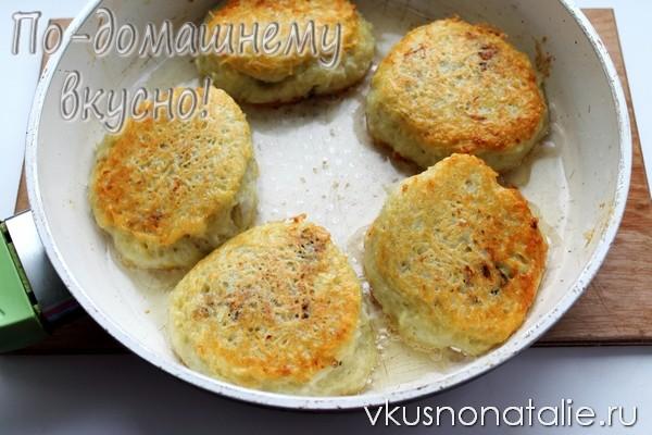зразы картофельные с грибами пошаговый рецепт