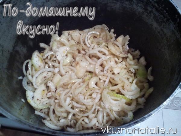 Плов из баранины и свинины – кулинарный рецепт