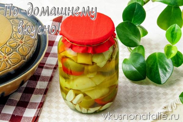 консервированный болгарский перец с чесноком