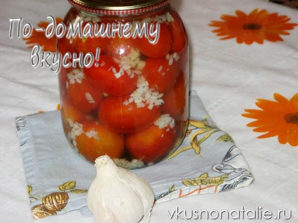 помидоры под снегом