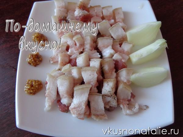 соленое сало по домашнему с чесноком