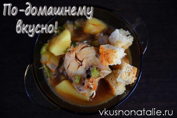 айнтопф немецкий суп с рыбой
