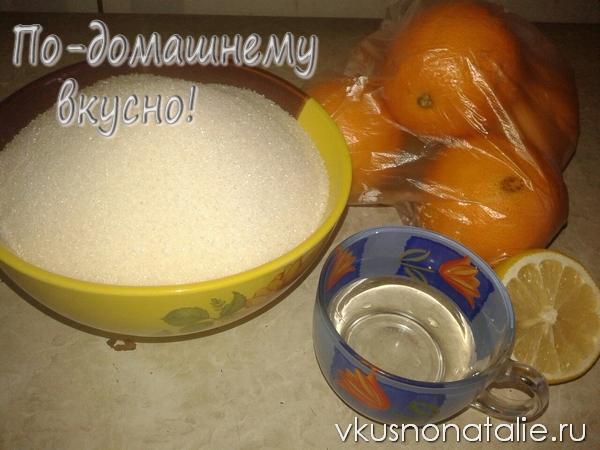 апельсиновое варенье в мультиварке рецепт