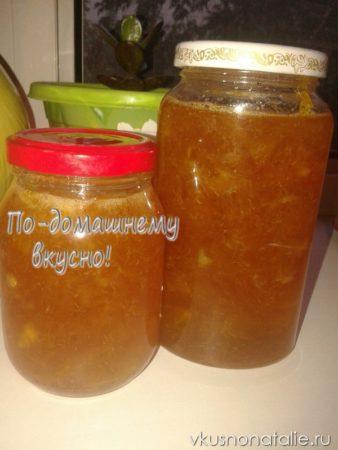 апельсиновое варенье в мультиварке пошаговый рецепт