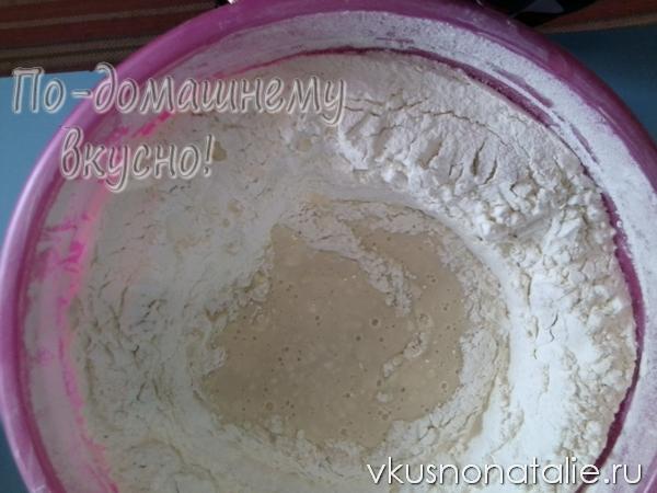 белый хлеб в домашних условиях пошаговый рецепт