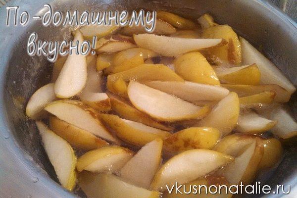 грушевое варенье пошаговый рецепт с фото