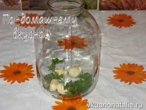 маринованные помидоры в желатине рецепт на зиму