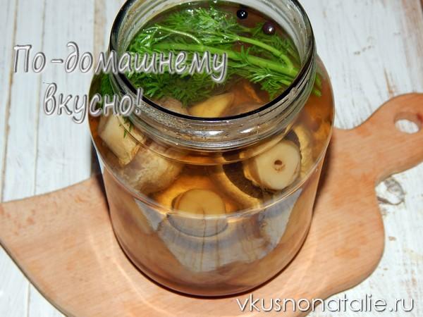 маринованные шампиньоны в домашних условиях пошаговый рецепт приготовления