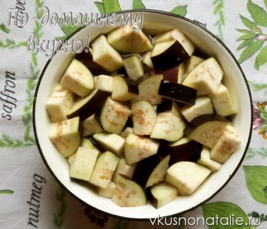 салат десятка из баклажанов на зиму рецепт