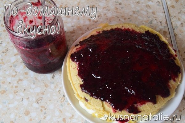 вафельный торт со сливочным кремом пошаговое приготовление