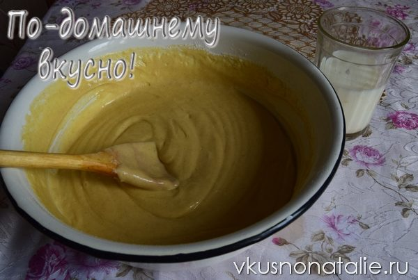 торт из домашних вафель пошаговый рецепт пошаговый